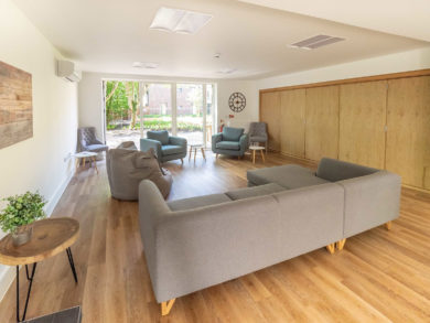 Centenerary Lodge Aldershot interior