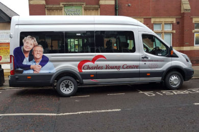 Charles young centre minibus